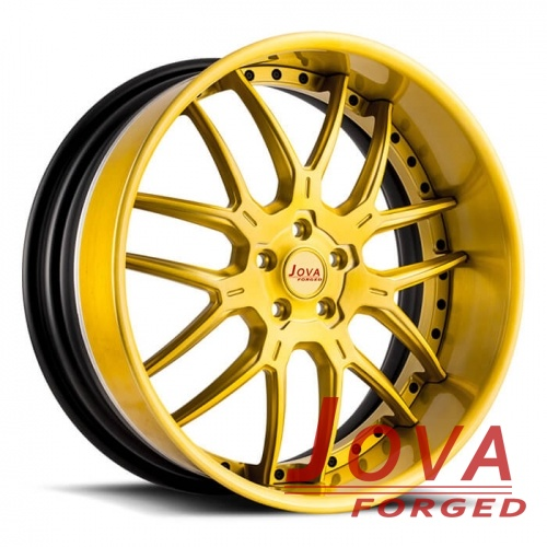 BMW 528i rims custom wheels 2-piece deep dish