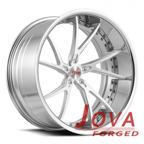 Audi tt wheels oem forged rims 2-piece