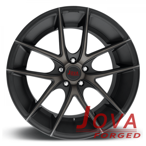 matte black concave rims 19 inch staggered