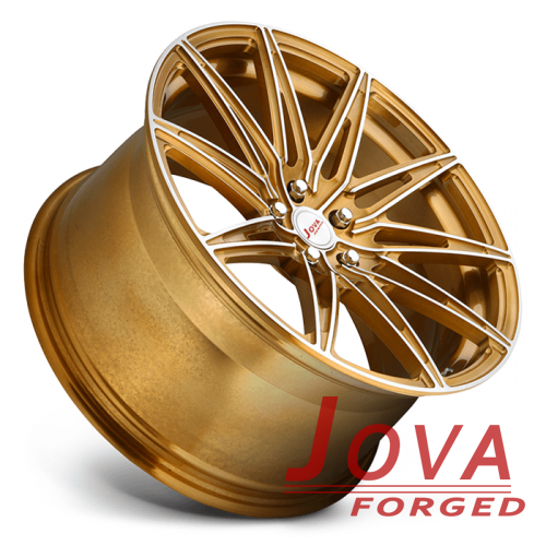 mustang staggered wheels 20 luxury rims bronze color