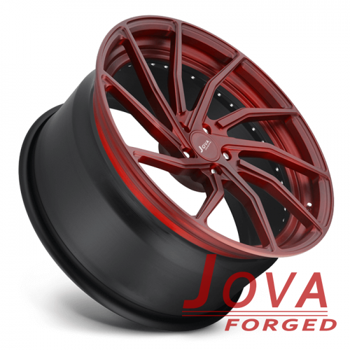 19 inch alloy wheels black and red