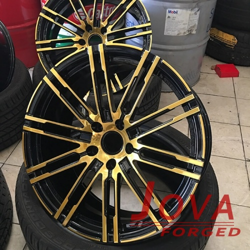 custom wheels for porsche 10 spoke colored rims