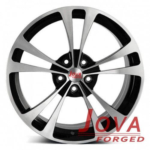 black concave suv wheels machined face rims oem