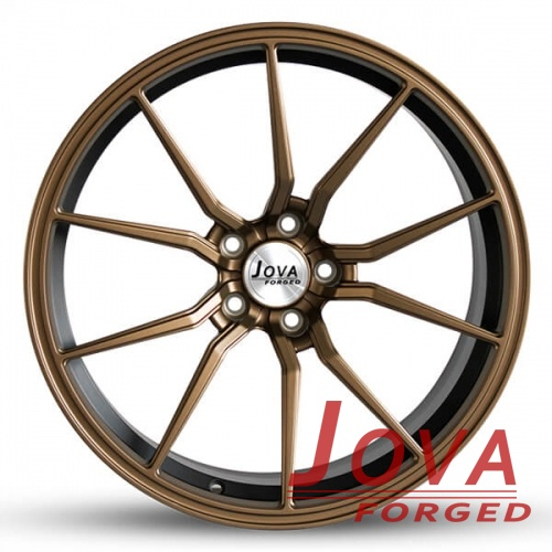 custom aftermarket rims bronze for ford mustang