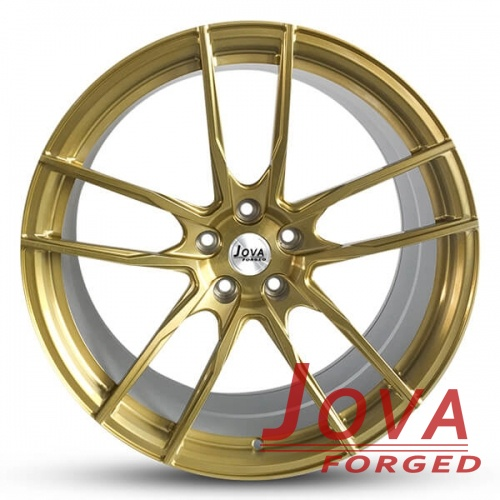 custom ford mustang rims double 5 spoke forged