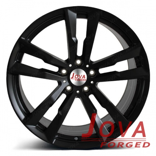 matte black rims 5 twin spoke concave