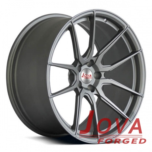Matte grey deep concave wheels 10 spoke