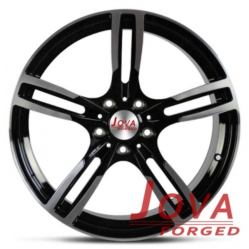 custom sport rims machine face 5 spoke concave
