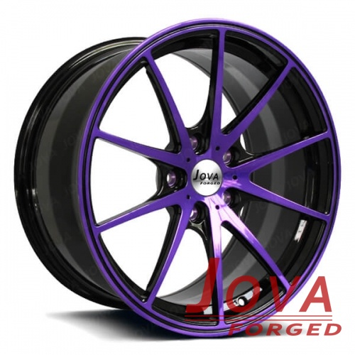Performance aftermarket wheels for Audi monoblock forged