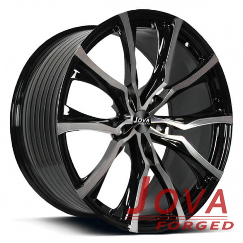 auto wheels and rims monoblock forged staggered