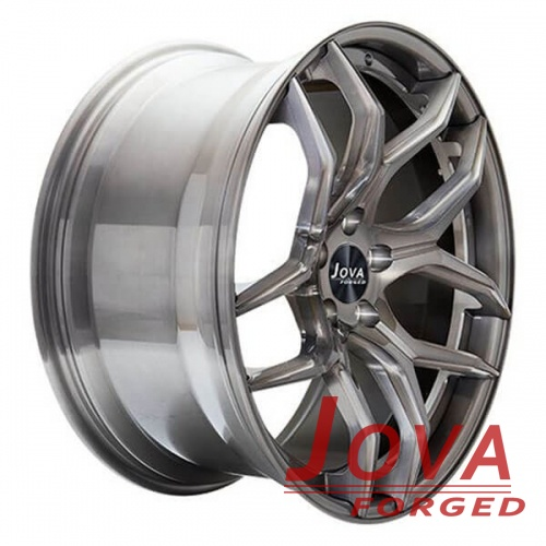 lightweight race wheels for cars 2pc forged