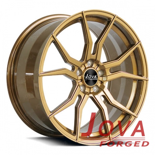 forged aluminum wheels bronze 19x9