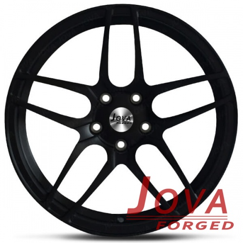 black rims for cars forged double 5 spoke