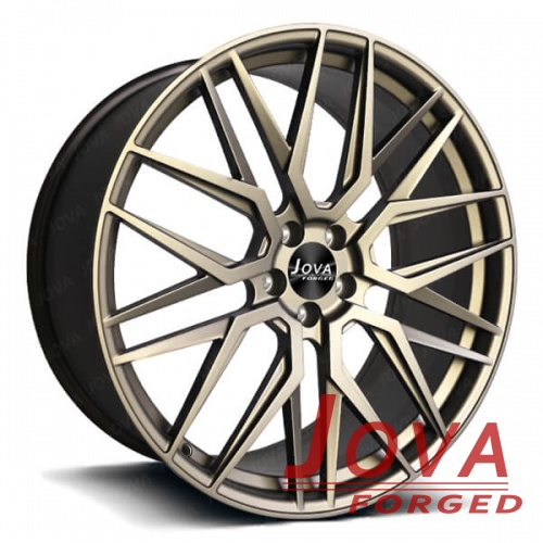 bronze color rims 22 inch staggered wheels