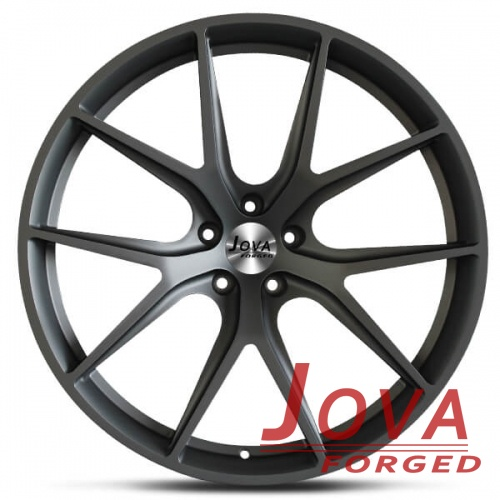 gunmetal grey audi wheels monoblock forged concave
