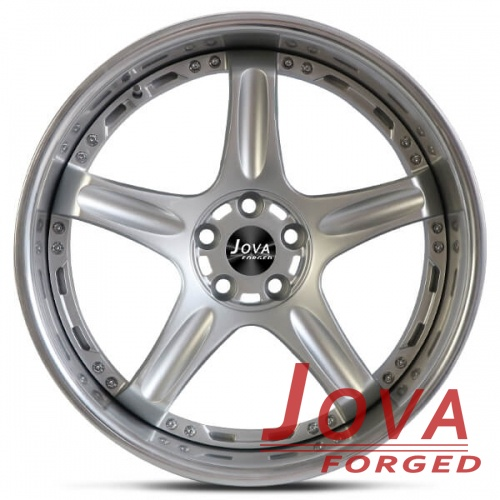 5 spoke deep dish rims 2 piece forged