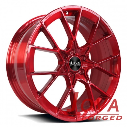 range rover sport rims red forged brushed