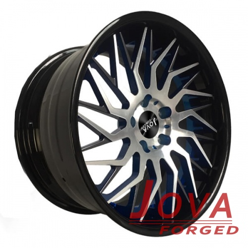 Custom cadillac rims colored 18 to 22 inch