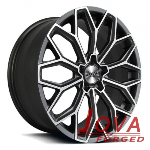 range rover 21 inch wheels staggered spoke