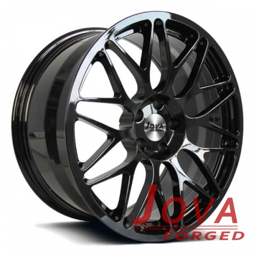 jaguar xf wheels black rims staggered spoke