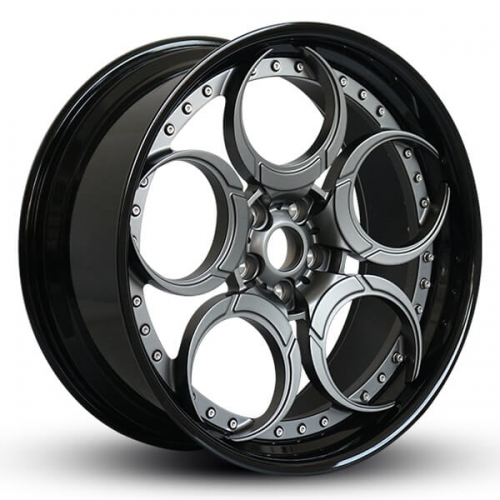 ford mustang aftermarket wheels 2 piece forged rims