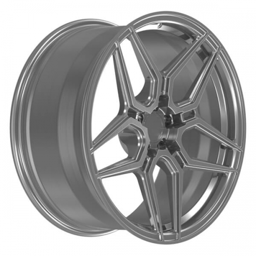 corvette c7 aftermarket wheels chevy brushed silver rims