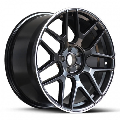black amg rims mercedes replica wheels 17 18 19 20
