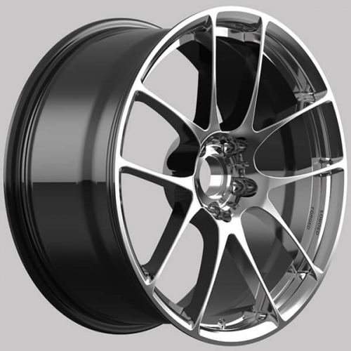 Tesla model x wheels 22 inch custom bbs rims