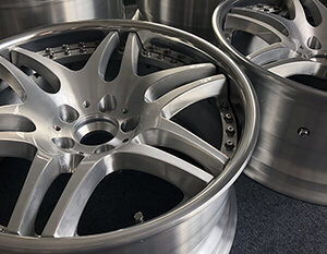 New forged aluminum wheels for cars